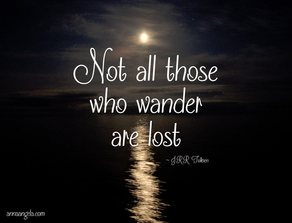 wander lost quote