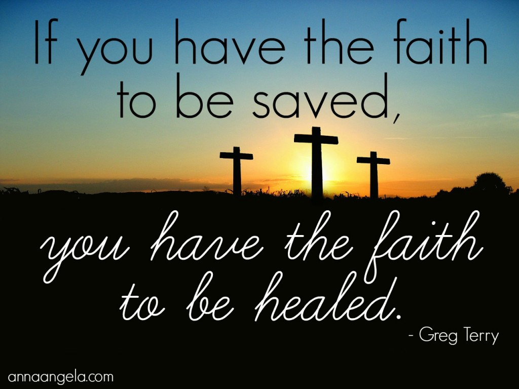 faith to be healed