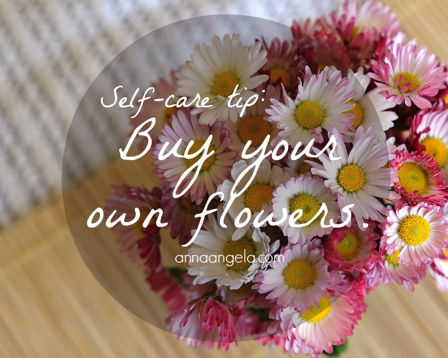 Buy your own flowers