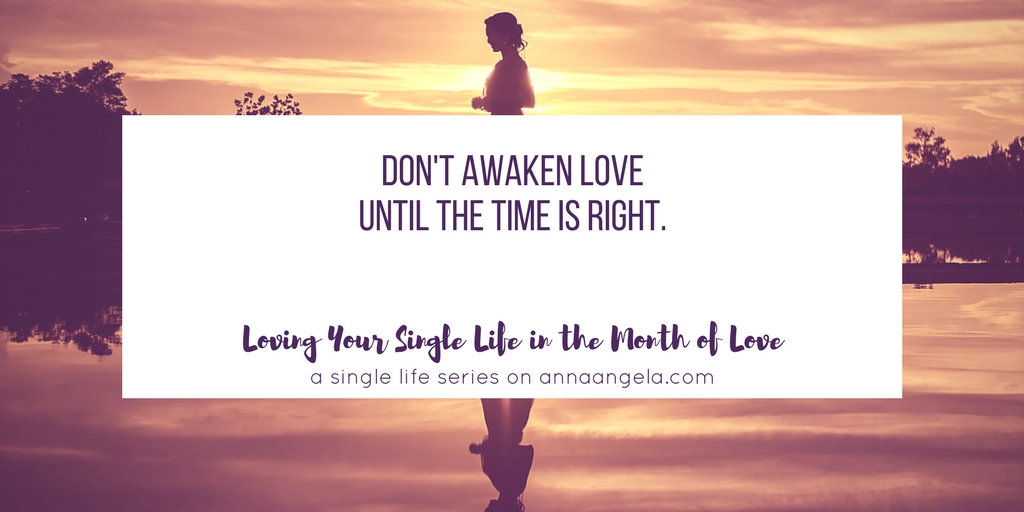 Loving Single Life Series Archives Anna Angela